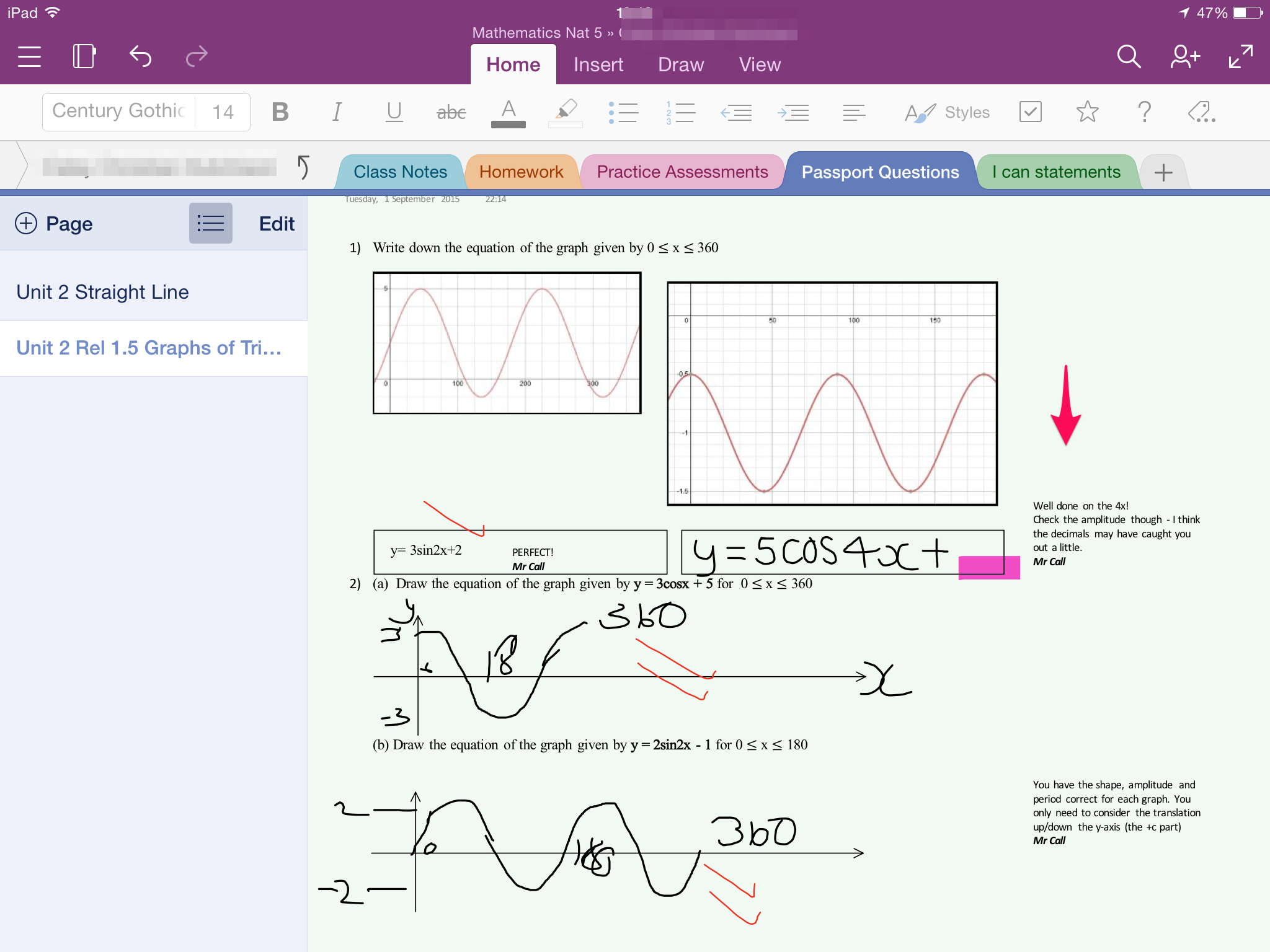 I've been trying out OneNote…   anumberofthoughts